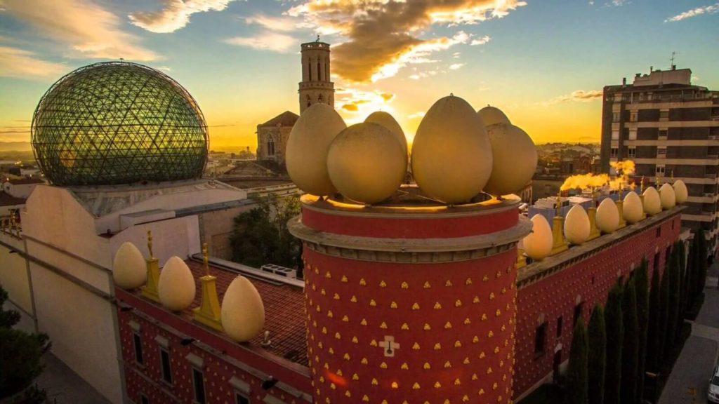 Трансфер Барселона Фигерас музей Дали, восторг от увиденного