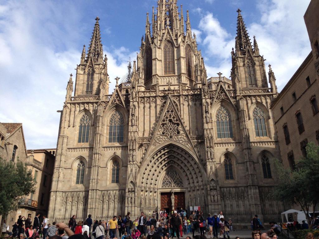 Готический квартал Барселоны, Кафедральный Cобор